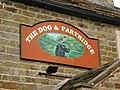 Dog and Partridge pub sign, Tosside, Lancashire.jpg