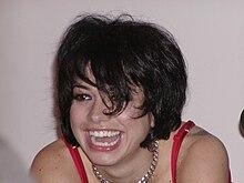 Dolcenera durante uno showcase tenuto a Milano il 7 ottobre 2005