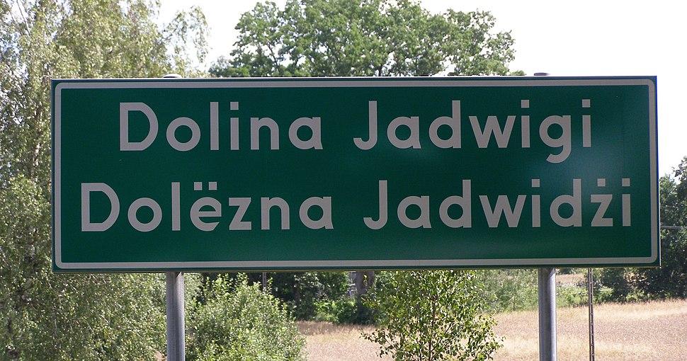 Dolina Jadwigi znak