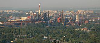 Lower Vítkovice - Northern part of Dolní oblast in past