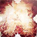 Domenico Zanetti, venezianischer Maler ( tätig nach1694; gestorben nach 1712) Kuppelfresko im ehemaligen Treppenhaus des Schlosses Bensberg, Zanetti-Saal- Sturz der Giganten.JPG
