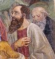 Domenico ghirlandaio, madonna della misericordia vespucci e pietà, 08.jpg
