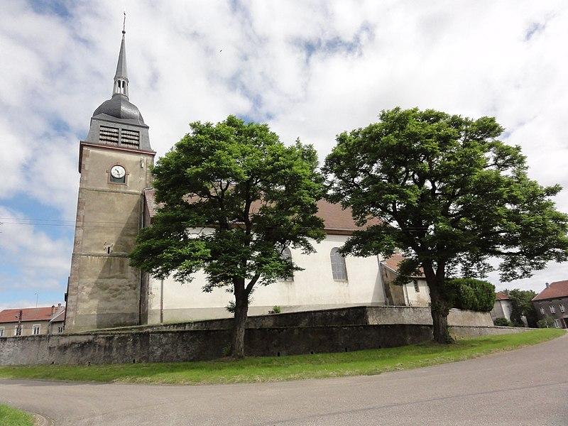 Domjevin (M-et-M) église