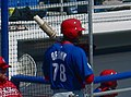 Domonic Brown 2010 spring training.jpg