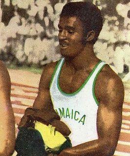 Don Quarrie Jamaican sprinter
