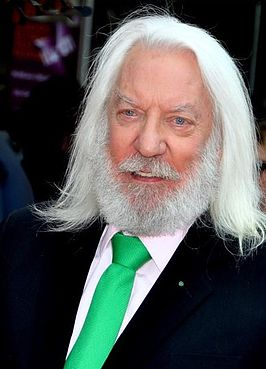 Donald Sutherland in 2012