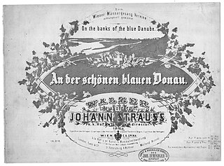 The Blue Danube waltz by Johann Strauss Jr.