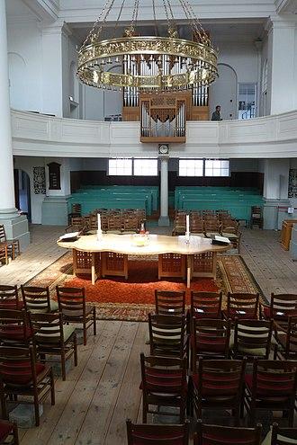 Doopsgezinde kerk, Haarlem - View from the pulpit