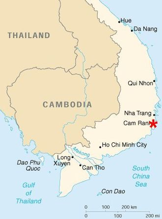 18th Engineer Brigade (United States) - Cam Ranh Bay
