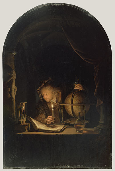 File:Dou, Gerard - Astronomer by Candlelight - c. 1665.jpg