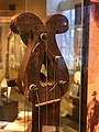 Double-scroll peghead from 1840s banjo, American Banjo Museum.jpg