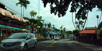 Downtown Kona, Hawaii