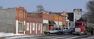 Monroe, Nebraska - Downtown Monroe