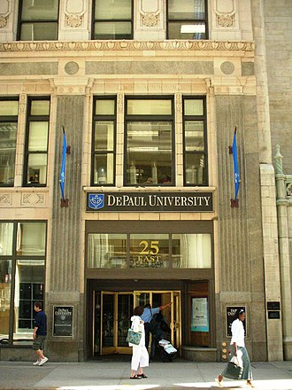 DePaul University College of Law - The College of Law, Lewis Center