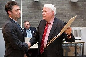 Dr Hendrik Muller Prize - 2015 ceremony