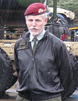 Chairman of the NATO Military Committee - Image: Dragoon Ride 2015 Pavel (cropped)