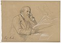 Drawing, Professor Alexander Dallas Bache Seated; Verso- Scribbled and Crossed out Sketch, 1859 (CH 18567035).jpg