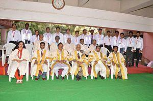 Man Mohan Sharma - Seventeenth Convocation of Dr. Babasaheb Ambedkar Technological University, Lonere Dr. Man Mohan Sharma at Convocation