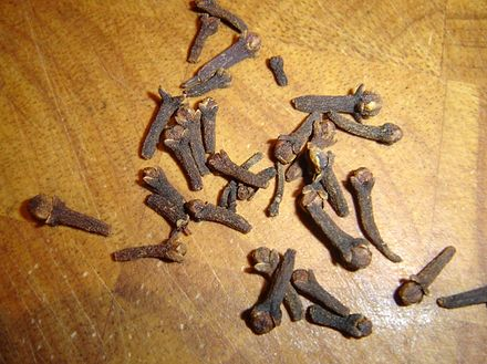 Clove - a spice, which played a significant role in the history of Buru Driedcloves.JPG