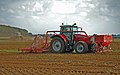 Drilling near Manor Wold Farm, Horkstow, autumn 2011.jpg