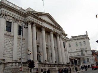 Dublin Corporation - Dublin City Hall (formerly the Royal Exchange)