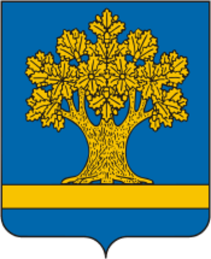 Dubovka, Dubovsky District, Volgograd Oblast - Image: Dubovka coat of arms (Volgograd region)