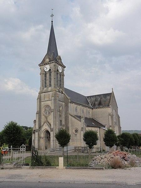 Dugny-sur-Meuse (Meuse) église