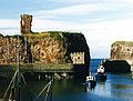 Dunbar Harbour and Castle, 1987.jpg