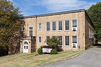 National Register of Historic Places listings in Marion County, West Virginia - Image: Dunbar School south side (Fairmont, West Virginia)