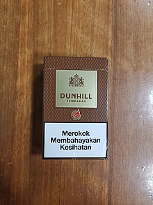 4b90fd3573 Dunhill (cigarette). From Wikipedia ...