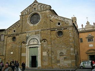 Volterra Cathedral - Image: Duomo di volterra, esterno