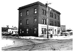 Durant-Dort Carriage Company - Water Street offices and showroom in 1977 before restoration