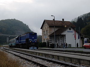 Đurmanec - Railway station