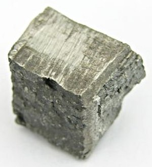 Dysprosium - Dysprosium sample