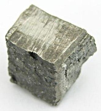 Dysprosium - Dysprosium sample