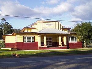 Bindoon, Western Australia - Image: E37 Bindoon Town Hall