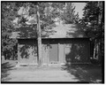 EAST FACE - Snowlodge, Tourist Cabin Type C No. 356, 480' southeast of Snowlodge, West Thumb, Teton County, WY HABS WYO,20-OFAIT,3D-1.tif
