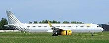 Un Airbus A321-200 di Vueling