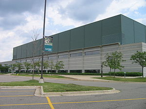 Convocation Center (Eastern Michigan University) - Exterior 2008