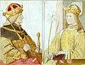 E Bendemann - Kaiser Friedrich III. und Eleonore von Portugal (Zeichnung aus dem Skizzenbuch ca.1850).jpg
