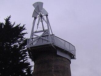 East Runton Windmill - Image: East Runton Tower Windmill 23 Jan 2008 (6)