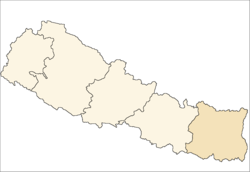 Bhutanese refugees is located in Nepal