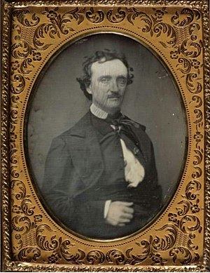 Death of Edgar Allan Poe - Portrait of Poe by William Abbot Pratt from September 1849, a month before his death
