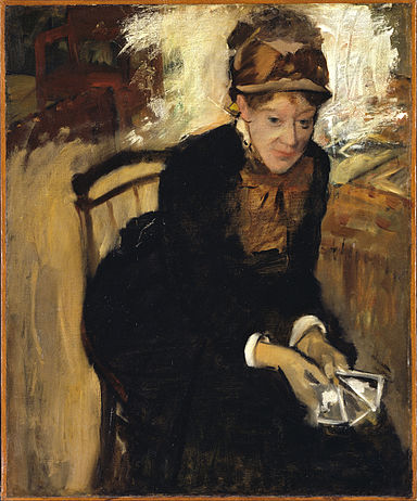 Edgar Degas - Mary Cassatt - Google Art Project