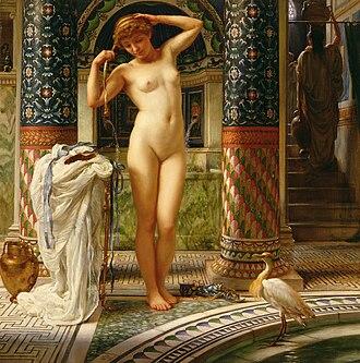 "Esquiline Venus - ""Diadumene"", by Poynter"