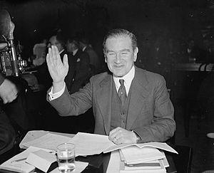 Edwin Borchard - Borchard at the Senate Judiciary Committee, 1937