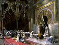 Edwin Lord Weeks - Interior of a Mosque at Cordova - Walters 37169.jpg
