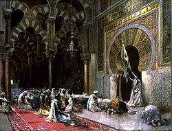 Edwin Lord Weeks: Interior of a Mosque at Cordova