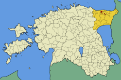 Location in Estonia