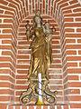 Effry (Aisne) église, statue vierge et enfant.JPG